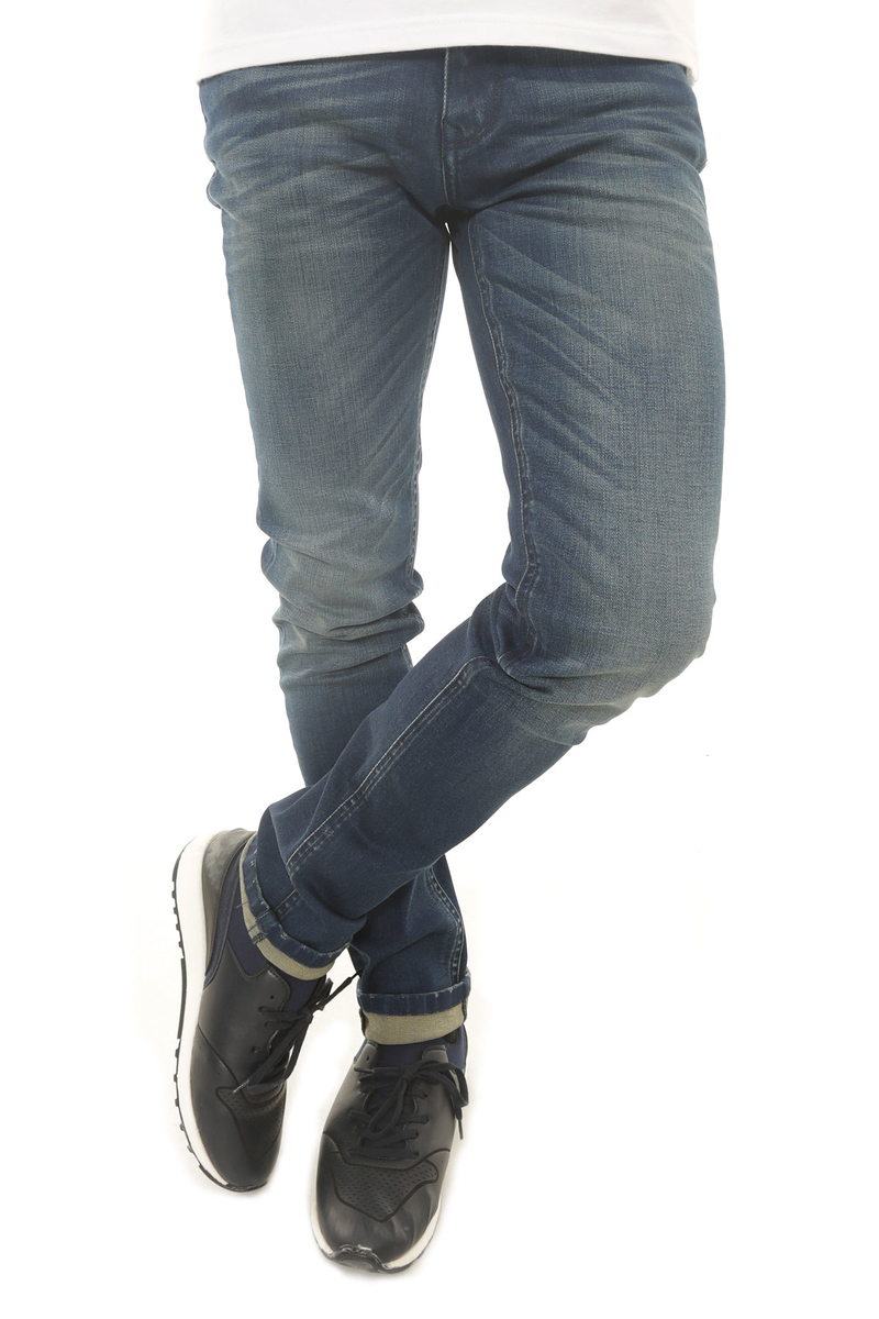 CAZ 0724 PARKER DENIM PANTOLON PETROL WASH - Thumbnail
