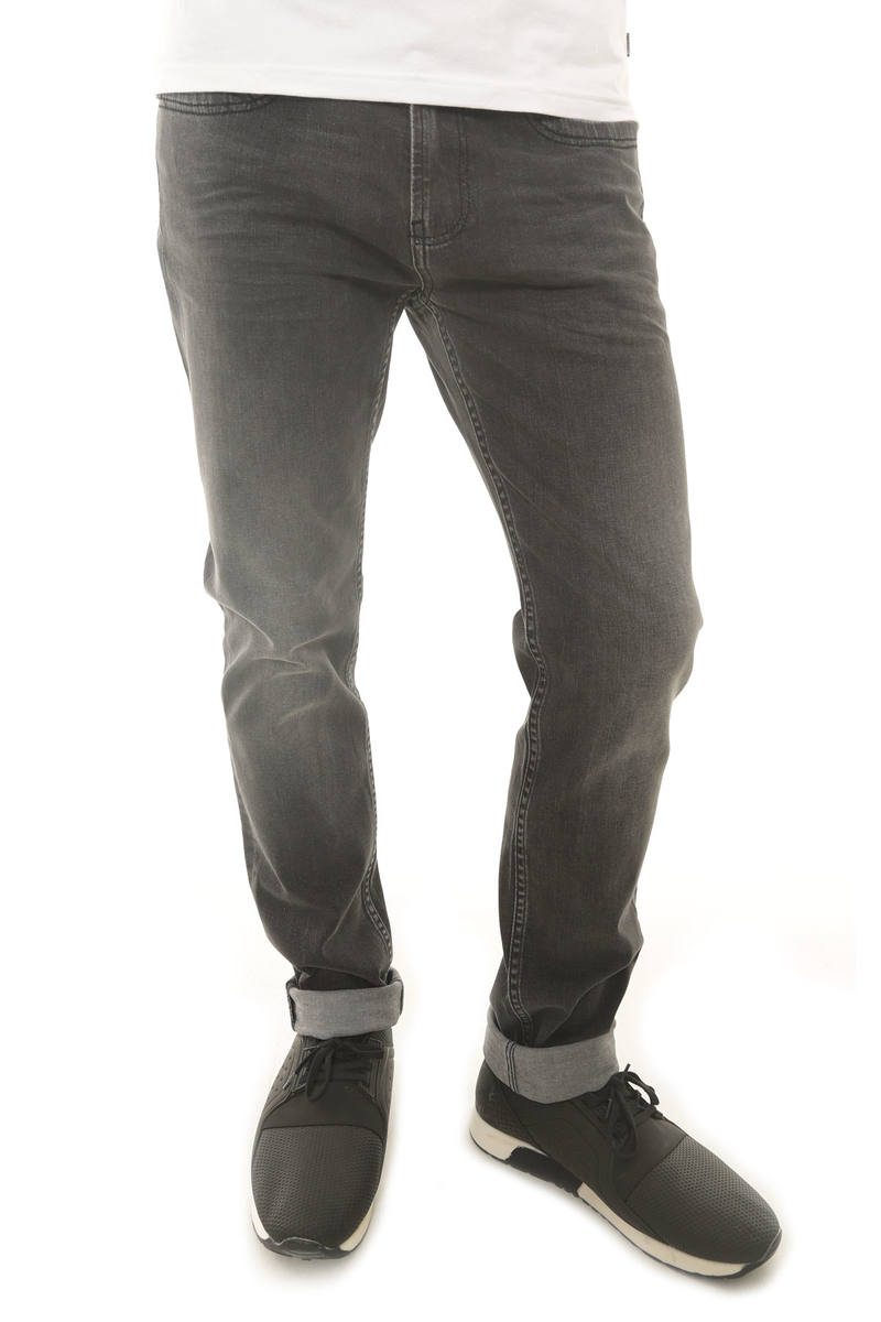 CAZ 0732 PARKER DENIM PANTOLON SHADOW GREY WASH - Thumbnail