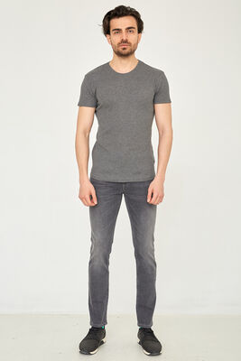 Cazador - CAZ 0759 HARDEN DENIM PANTOLON GREY STONE WASH