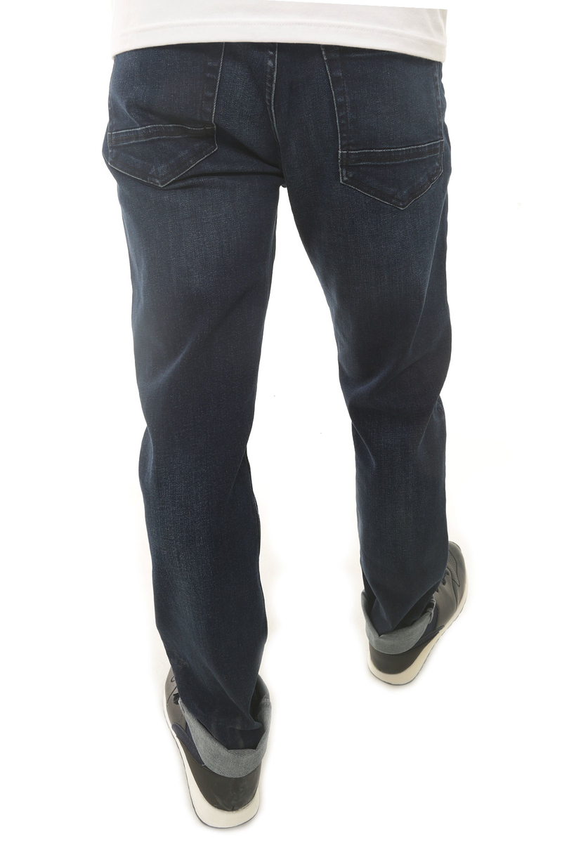 CAZ 0771 TERRY DENIM PANTOLON DEEP NAVY WASH
