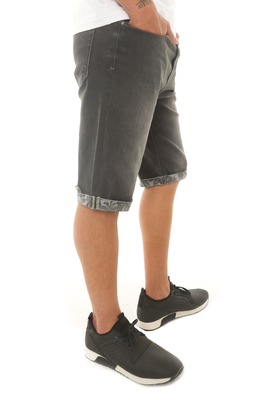 Cazador - CAZ 6709 DENIM BERMUDA DARK GREY
